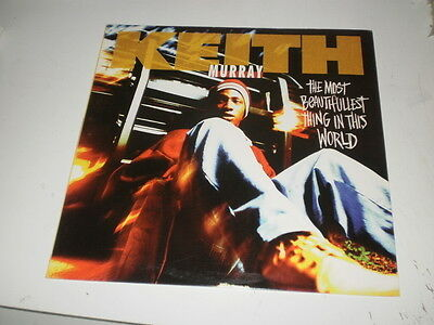 """KEITH MURRAY -  The Most Beautifullest Thing In This World - 12"""" JIVE RECORDS -"""