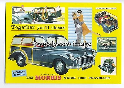 tm5690 - Morris Minor 1000 Traveller - British Cars of the 50's & 60's postcard