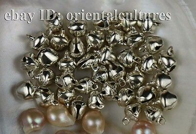 Tribal exotic chinese handmade miao silver small bells $1 per pair