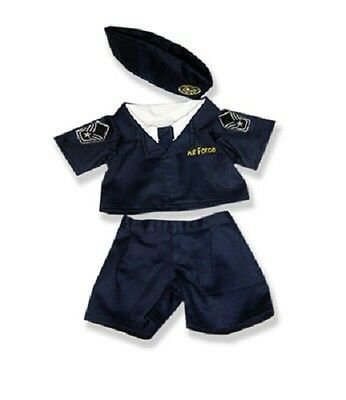"Air Force Outfit teddy bear clothes fits 15"" Build a Bear"