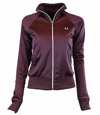 Fred Perry Lady Jacket J9775 Gr. XS-XL ROXO lila TRIKOT Retro  *FP-4