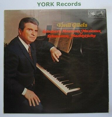 ASD 2483 - SCHUBERT - Moments Musicaux EMIL GILELS - Excellent Con LP Record