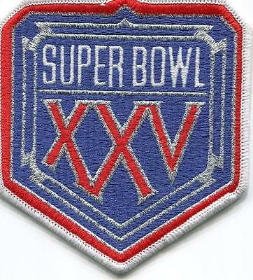 SUPER BOWL 25 BILLS VS NY GIANTS Willabee Ward OFFICIAL SB XXV NFL PATCH