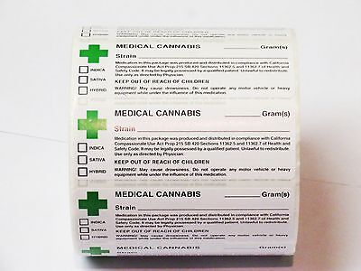 Green Cross Label Medical Labels Squeezetops Pop Tops Vials RX