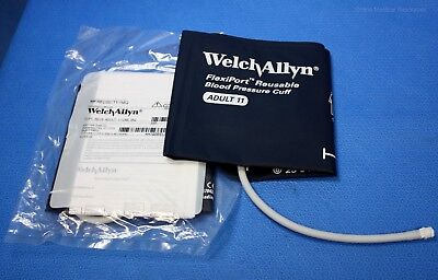 Welch Allyn FlexiPort Adult Blood Pressure Cuff 1 Tube Twist Lock REUSE-11-1MQ