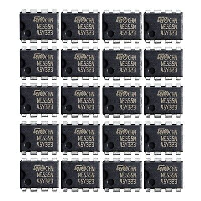 NE555 IC 555 Timer 5, 10, 20  PCS Texas Instruments Brand New. USA Seller!!!