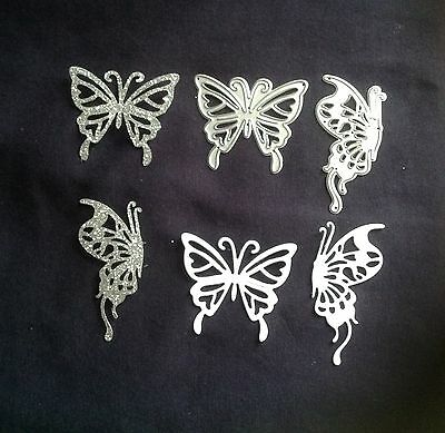 Set of 2 butterfly dies * Metal cutting Dies~ 2 in Pack- Please read description