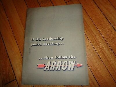 Arrow Shirts Vintage Advertising Book 1940s