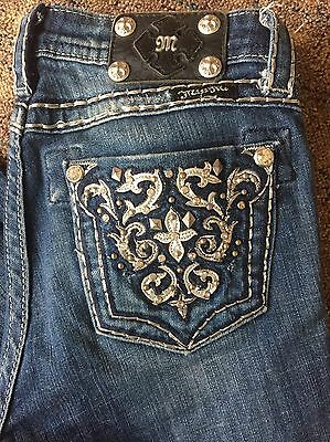 Girls MISS ME BOOT CUT Jeans~Size 14~EUC!