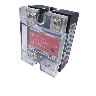 US Stock H60A Solid State Relay SSR AC-AC Input 70-280V AC Load 24-480V AC A4860