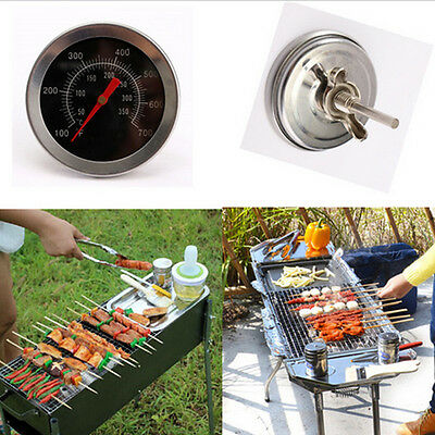 Kitchen Oven Food Cooking Barbecue BBQ Grill Smoker Meat Thermometer Steel