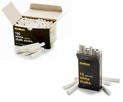 Drakes Pride White Finger Chalk Sticks Available In Various Quantities