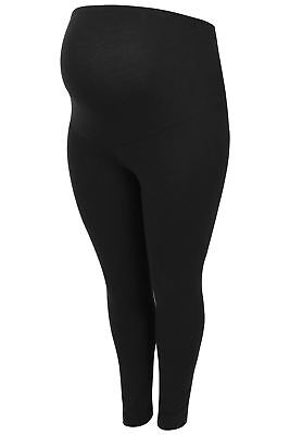 Womens Bump It Up Maternity Viscose Elastane Leggings With Comfort Panel, Plus S