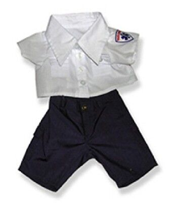 "Paramedic Costume outfit teddy bear clothes fits 15"" Build a Bear"