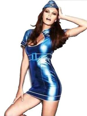 NAUGHTY AIR HOSTESS / PILOT HEN PARTY FANCY DRESS OUTFIT COSTUME by ANN SUMMERS