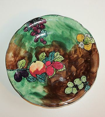 Hancock & Sons Titian Ware, Hand Painted Plate.