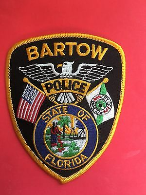 Bartow Florida  Police Shoulder Patch