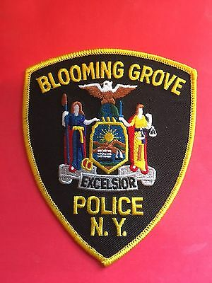 Blooming Grove New York  Police Shoulder Patch