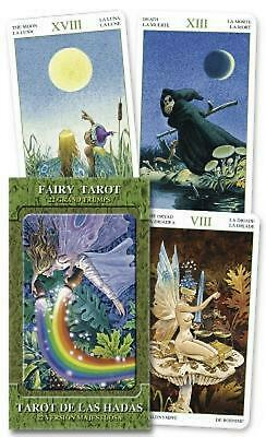 Fairy Tarot Grand Trumps by Lo Scarabeo (English) Paperback Book Free Shipping!