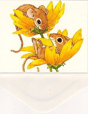 "❤❤Linda K Powell Forest Critters❤❤Unused 4""x6"" Card W/envelope❤❤Current"