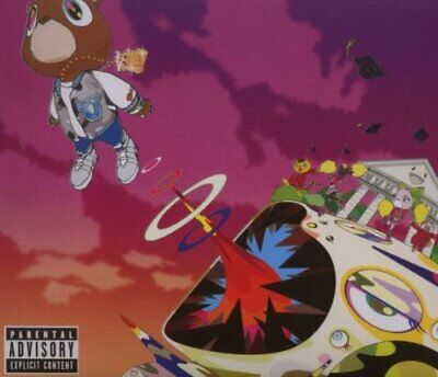 Kanye West - Graduation - Kanye West CD MOVG The Cheap Fast Free Post The Cheap