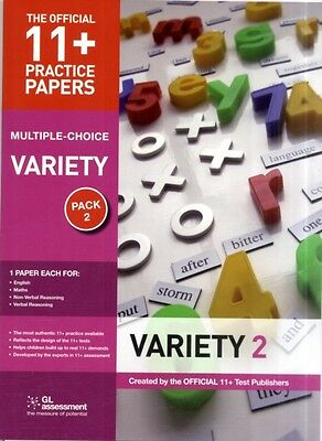 11+ Practice Papers Multiple-choice Variety Pack 2: Contains 4 Tests - Maths 11.
