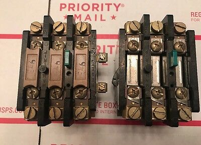 Lot Of 2 Furnas Thermal Overload Relay 48DC38AA4