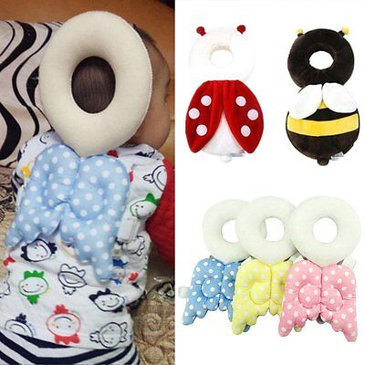 Baby Infant Toddler Head Back Protector Safety Pad Harness Headgear Headrest