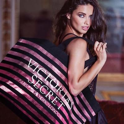 Victorias Secret Large Weekender Getaway Bag Travel Tote Nwt