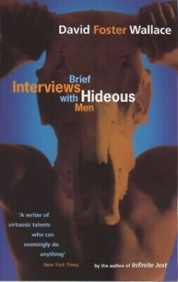 Brief Interviews With Hideous Men, Foster Wallace, David Paperback Book The