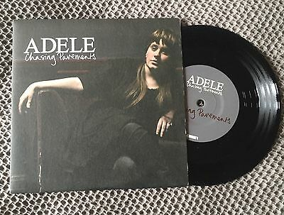 """Adele Chasing Pavements 7"""" Vinyl Single Record That's It I Quit"""