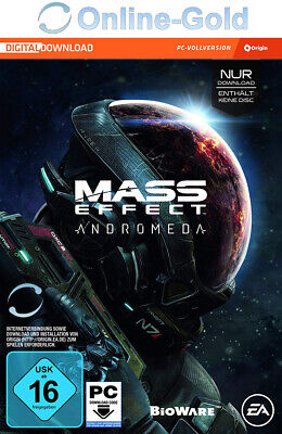 Mass Effect 4 IV Andromeda Key - PC Game Key - EA Origin Digital Code ME4 EU/DE