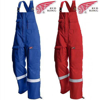 Bib And Brace Overalls Work Dungarees Hi Viz Flame Retardant Welder Mechanic