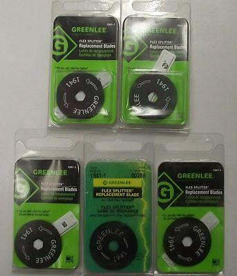 Greenlee 1941-5 BX Cutter Replacement Blades 5 Blades USA