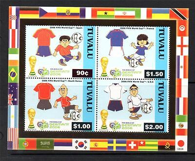 Tuvalu Mnh 2006 Ms1198 World Cup Football - Germany