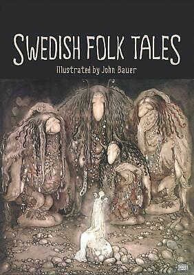 Swedish Folk Tales by John Bauer (English) Hardcover Book Free Shipping!