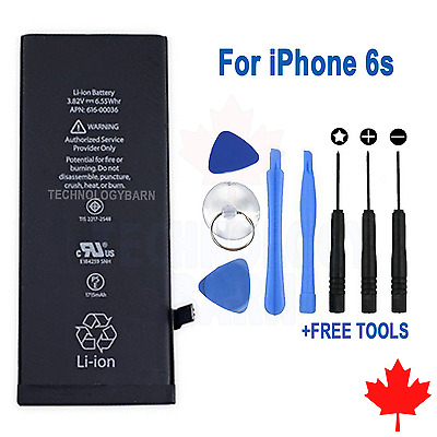 Brand NEW Replacement Battery for iPhone 6s 1715mAh With FREE Repair Tools