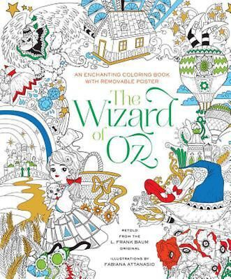 The Wizard of Oz Coloring Book by Fabiana Attanasio (English) Paperback Book