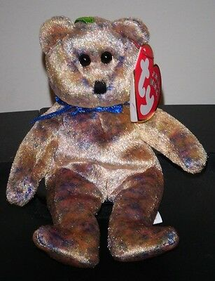 "Ty Jingle Beanie Baby ~ CLUBBY III the (4-5"") Bear ~ MINT w/ MINT TAGS Exclusive"