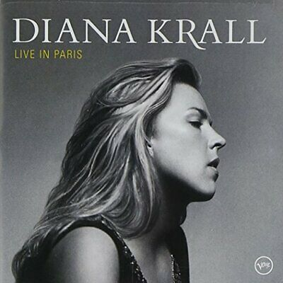 Krall, Diana - Live In Paris - Krall, Diana CD OTVG The Cheap Fast Free Post The