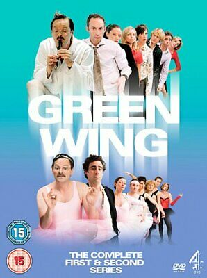 Green Wing - The Complete Series 1 & 2 (6 Disc Box Set) [DVD] - DVD  TUVG The