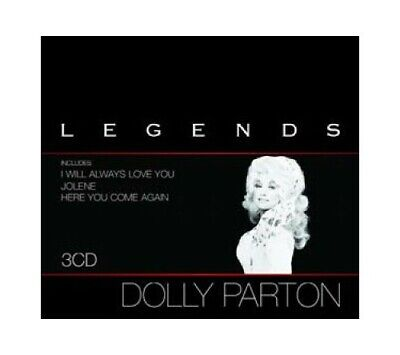 Parton, Dolly - Legends - Parton, Dolly CD ZIVG The Cheap Fast Free Post The
