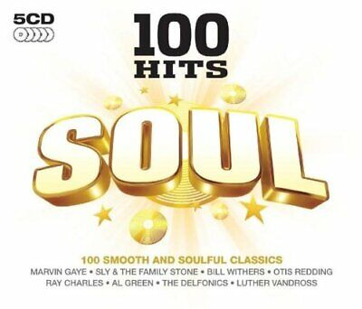 Various Artists - 100 Hits: Soul - Various Artists CD T6VG The Cheap Fast Free