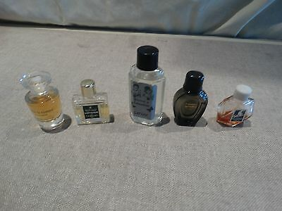 lot de mini parfums