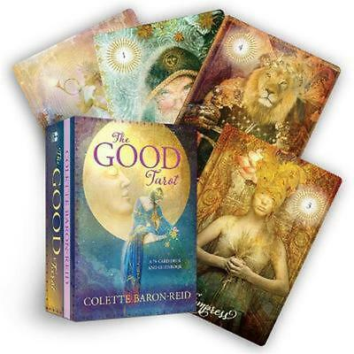 The Good Tarot: A 78-Card Deck and Guidebook by Colette Baron-Reid Free Shipping