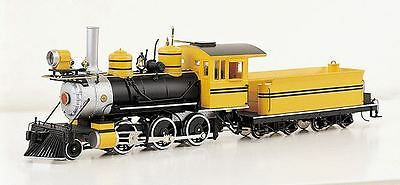Bachmann 25249 On30 Painted & Unlettered 2-6-0 Mogul Steam-Powered Locomotive
