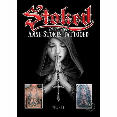 *STOKED The Art Of Anne Stokes Tattooed* Gothic Fantasy Art Book