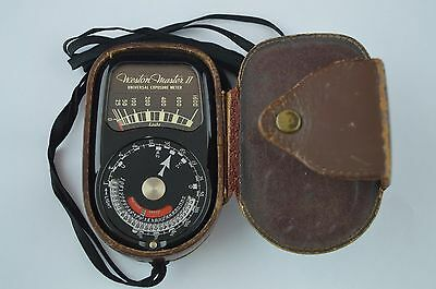 Lovely Vintage Weston Master ll Universal Exposure Meter/Light Meter RD7095