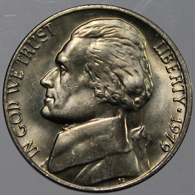1979-P Full Step FS Gem BU Jefferson Nickel (SP)