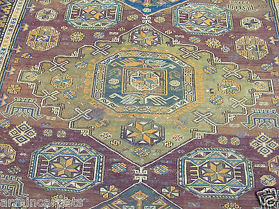 ANTIQUE FASCINATING HANDMADE AZERBAIJAN ORIENTAL SUMAK (328 x 201 cm)